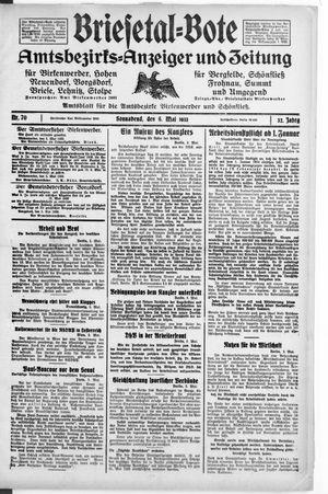 Briesetal-Bote vom 06.05.1933