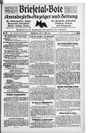 Briesetal-Bote vom 08.06.1933