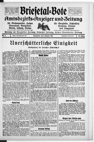 Briesetal-Bote vom 05.01.1935