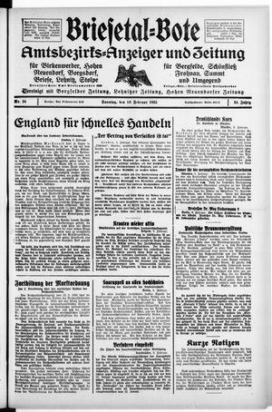 Briesetal-Bote vom 10.02.1935