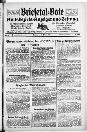 Briesetal-Bote vom 24.02.1935