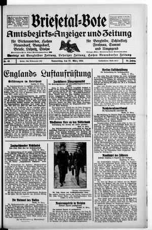 Briesetal-Bote on Mar 21, 1935