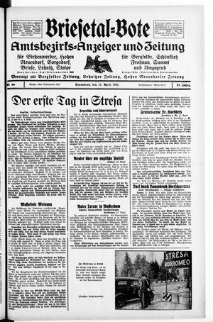 Briesetal-Bote vom 13.04.1935