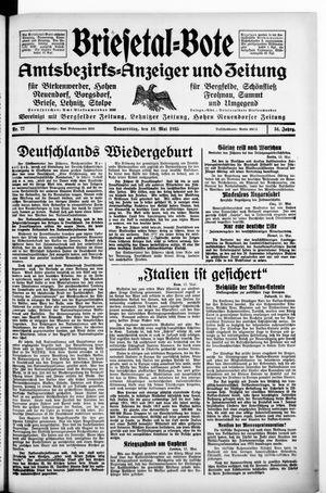 Briesetal-Bote vom 16.05.1935