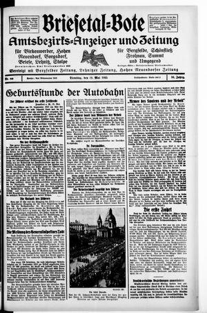 Briesetal-Bote vom 21.05.1935