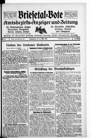 Briesetal-Bote on May 25, 1935