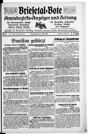 Briesetal-Bote vom 06.06.1935