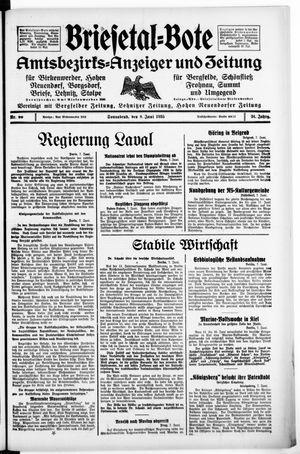 Briesetal-Bote vom 08.06.1935