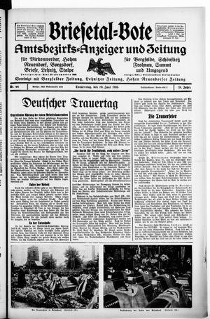 Briesetal-Bote vom 20.06.1935