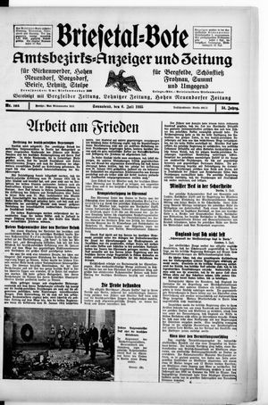 Briesetal-Bote vom 06.07.1935