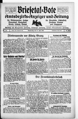 Briesetal-Bote vom 18.07.1935
