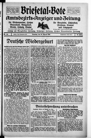 Briesetal-Bote vom 20.08.1935