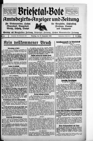 Briesetal-Bote vom 24.09.1935