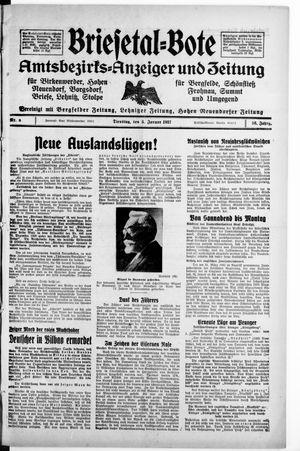 Briesetal-Bote vom 05.01.1937