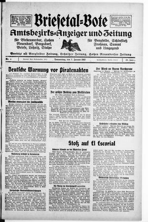 Briesetal-Bote vom 07.01.1937