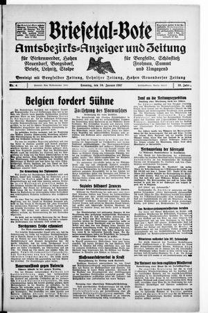 Briesetal-Bote vom 10.01.1937