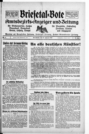 Briesetal-Bote vom 16.01.1937