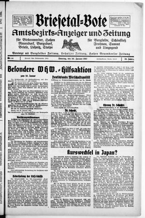 Briesetal-Bote vom 24.01.1937
