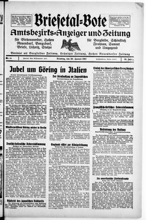 Briesetal-Bote vom 26.01.1937
