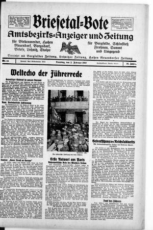 Briesetal-Bote vom 02.02.1937