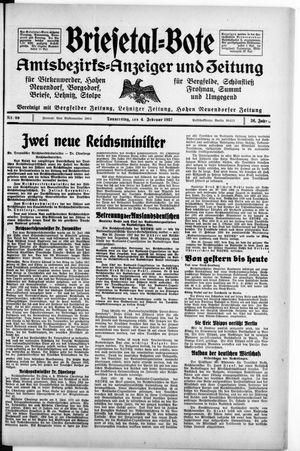 Briesetal-Bote vom 04.02.1937