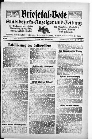 Briesetal-Bote vom 09.02.1937