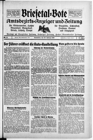 Briesetal-Bote vom 20.02.1937