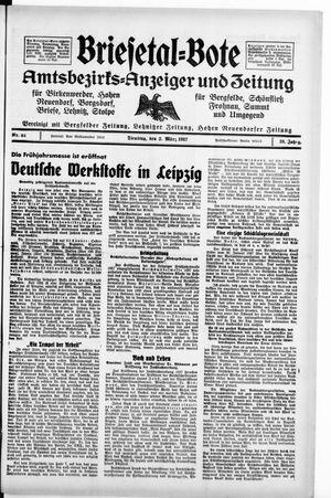 Briesetal-Bote vom 02.03.1937