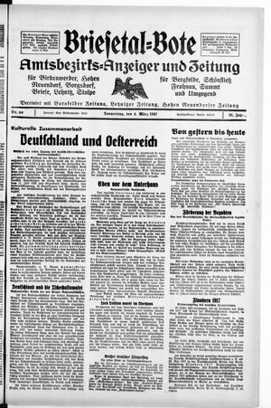 Briesetal-Bote vom 04.03.1937