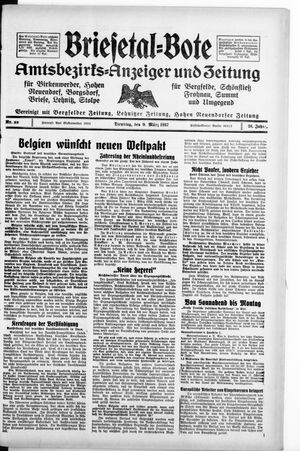 Briesetal-Bote vom 09.03.1937