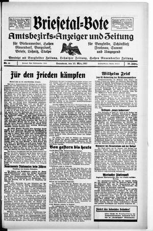 Briesetal-Bote vom 13.03.1937