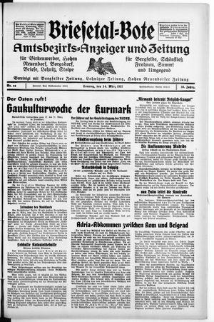 Briesetal-Bote vom 14.03.1937