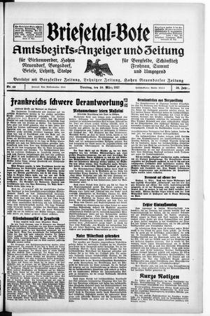 Briesetal-Bote vom 16.03.1937