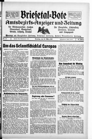Briesetal-Bote vom 23.03.1937