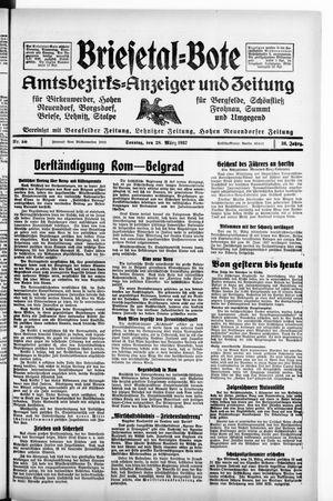 Briesetal-Bote vom 28.03.1937