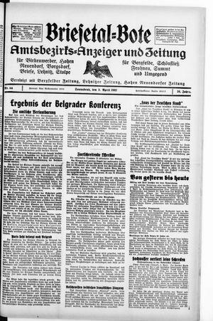 Briesetal-Bote vom 03.04.1937