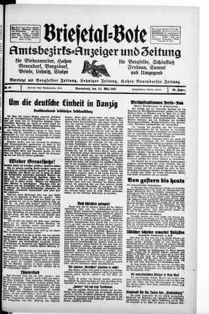 Briesetal-Bote vom 15.05.1937
