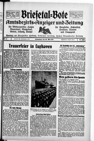 Briesetal-Bote vom 22.05.1937