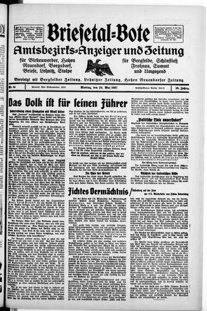 Briesetal-Bote vom 24.05.1937