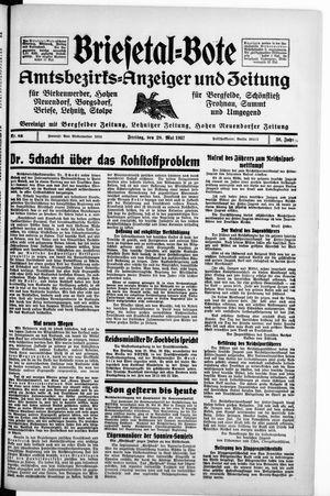 Briesetal-Bote vom 28.05.1937