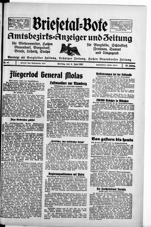 Briesetal-Bote vom 04.06.1937