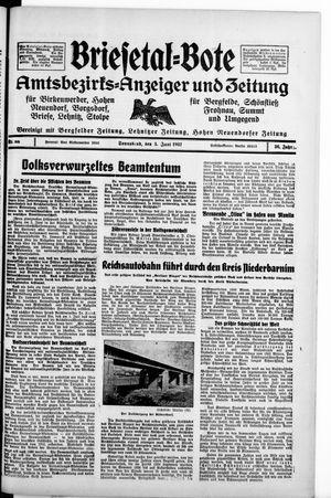 Briesetal-Bote vom 05.06.1937