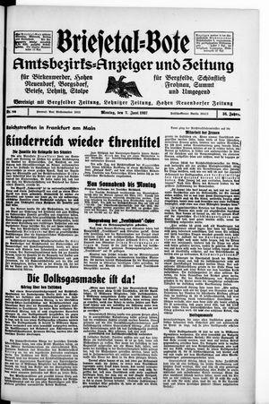 Briesetal-Bote vom 07.06.1937