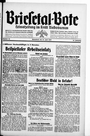 Briesetal-Bote vom 12.06.1937