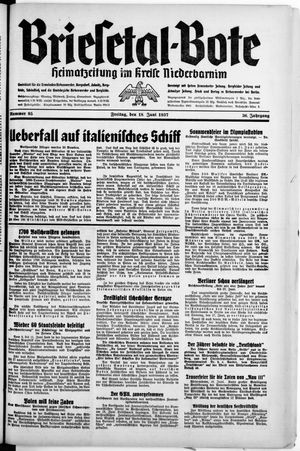 Briesetal-Bote vom 18.06.1937