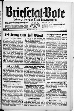 Briesetal-Bote vom 19.06.1937