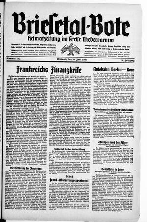 Briesetal-Bote vom 30.06.1937