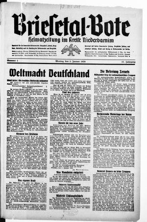 Briesetal-Bote vom 03.01.1938