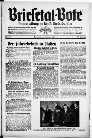 Briesetal-Bote vom 08.01.1938