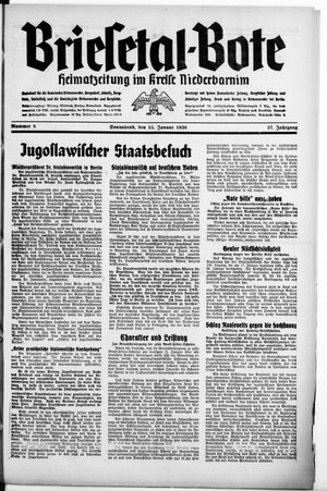 Briesetal-Bote vom 15.01.1938
